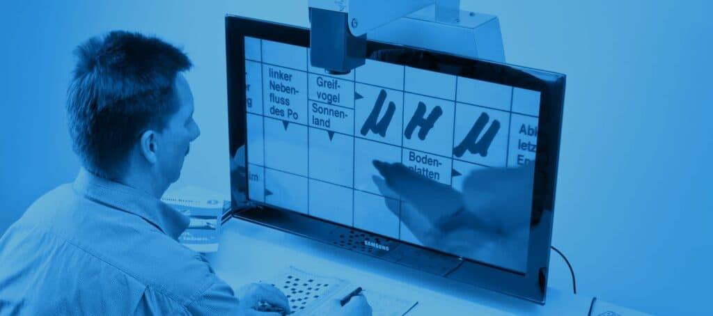 Sehhilfen - Bildschirmlesegeräte