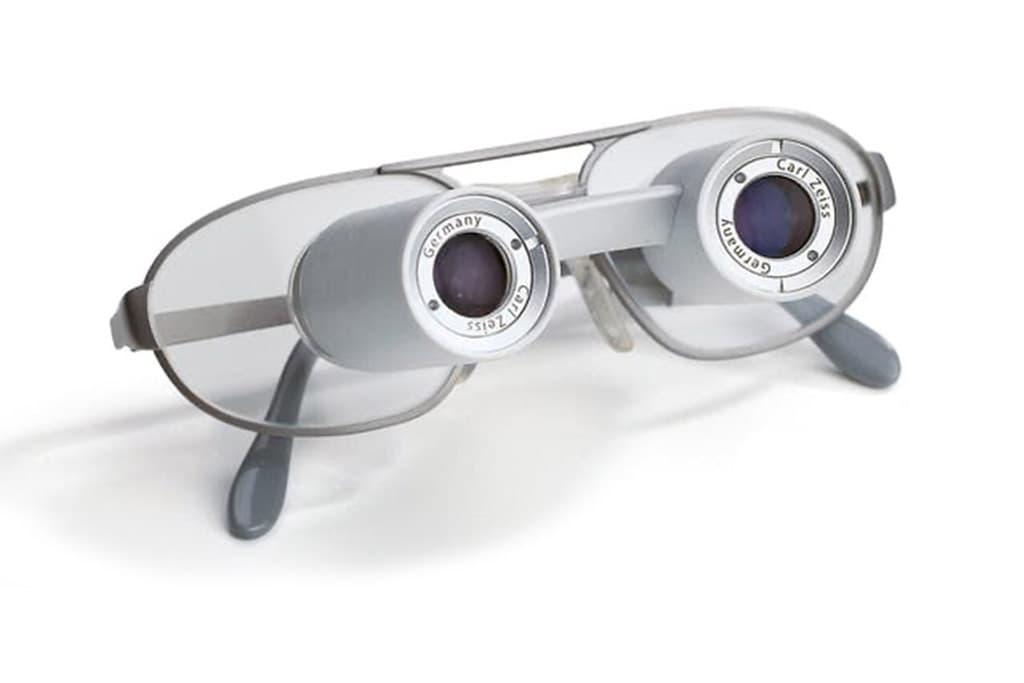 Keplersche Fernrohr-Brillen von ZEISS